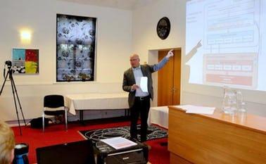 Udviklingschef, Jørgen Nielbæk dirigerede med sikker hånd den stiftende generalforsamling