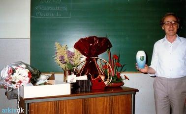 Holger Christensen sidste skoledag