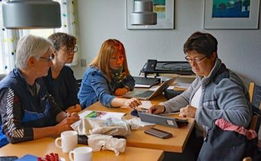 ra et tidligere planlægningsmøde på Kvie Sø Efterskole