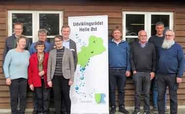 Fra venstre: Jørgen Madsen, Fåborg; Ulla Sundvang, Agerbæk; Ingrid S. Simonsen, Hjortkær; Flemming Lysholm, Agerbæk; Jonna Buch Andersen, Kærbjerg; Claus Jeppesen, Vrenderup; Mikkel Ottosen, Starup; Jørn S. Pedersen, Årre; Jan Skovbjerg, Fåborg; Lars Bo, Galstho