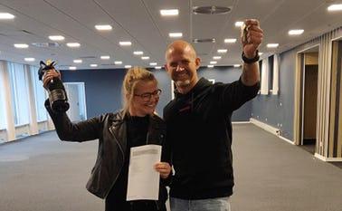 Rikke og Kim - iværksætterne bag det nye fitnesscenter i Ølgod