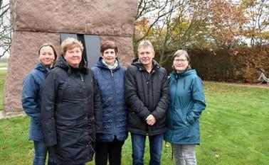 Tina Andersen, Mette Alsaker,.Lene Kruse, , Birger Filskov og Dorte Larsen