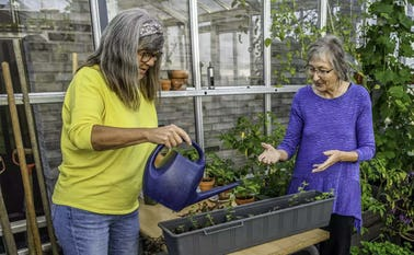 Antallet af seniorbofællesskaber stiger markant. Realdania har været med til at opføre seniorbofællesskabet Kamelia Hus, der stod færdig i 2019