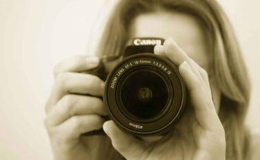 På kuset lærer du at bruge din telefon eller dit kamera, så du bliver tryg ved at tage billeder til foreningens hjemmeside og sociale medier