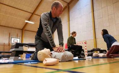 Hjertelungeredning under kurset