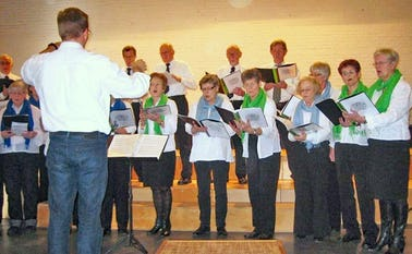 Øse Sangkor øver i Nordenskov skole hver mandag fra kl. 19.30-21.30