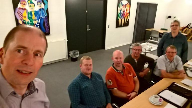 Bestyrelsesmøde i Horne Hallen