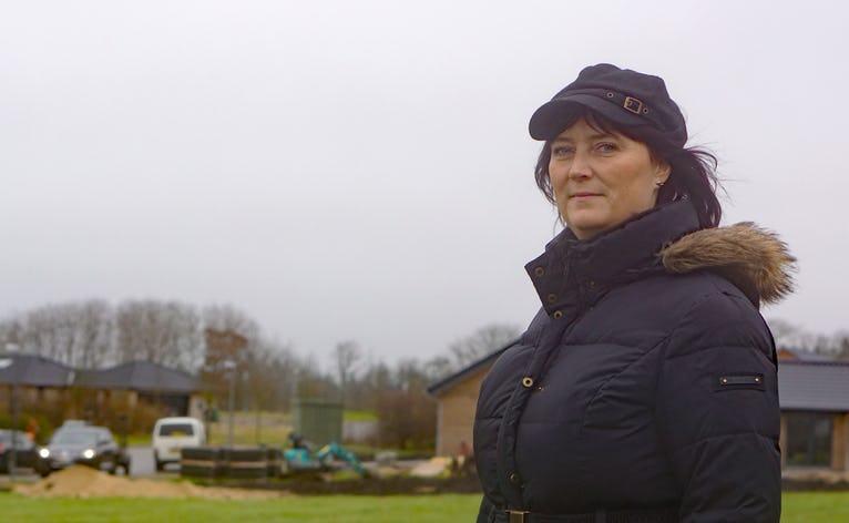 Elise Saxild Kristensen fra bosætningsudvalget glæder sig over heftig byggeaktivitet på Egedalen og vil samtidig arbejde på at skabe flere nye lejemål i Ansager