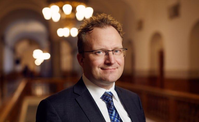Et nyt lån fra Nykredit bliver modtaget positivt af formanden for Landdistrikternes Fællesråd, Steffen Damsgaard.