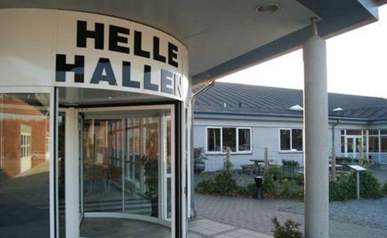 Helle Hallen er en af de steder i Helle ØSt, hvor du kan få iværksætterlokaler