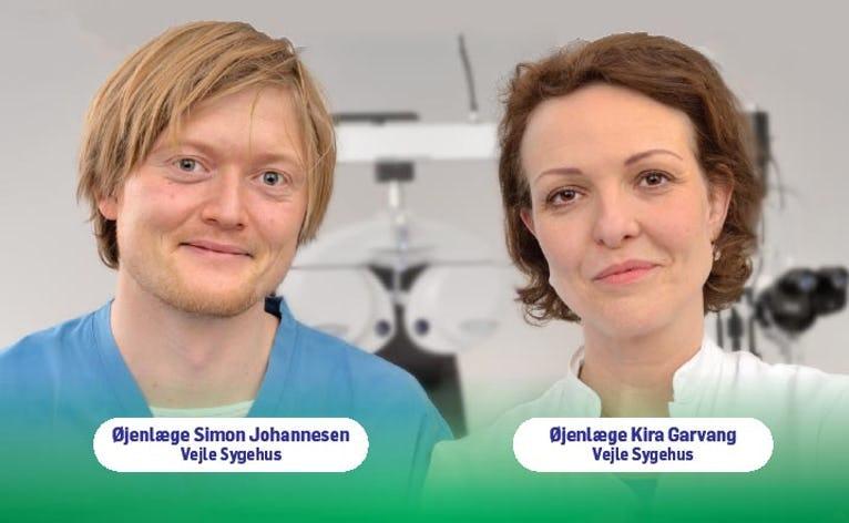 I Kulturhuset i Ølgod onsdag d. 21. marts vil to øjenlæger fra Vejle fortælle om symptomer på øjensygdomme