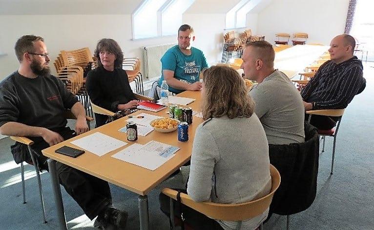 De første netværksmøder er afholdt i PowerTower Helle's afdeling i Agerbæk.