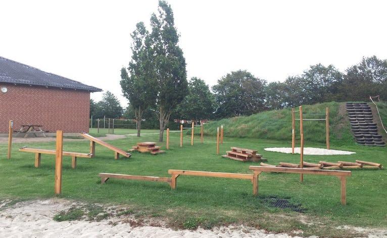 Outdoor Fitness ved Næsbjerg Skole