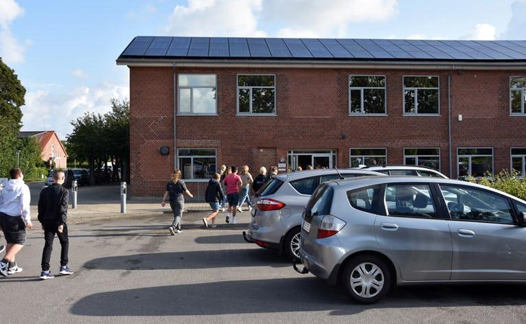 Skolestart i Nørre Nebel