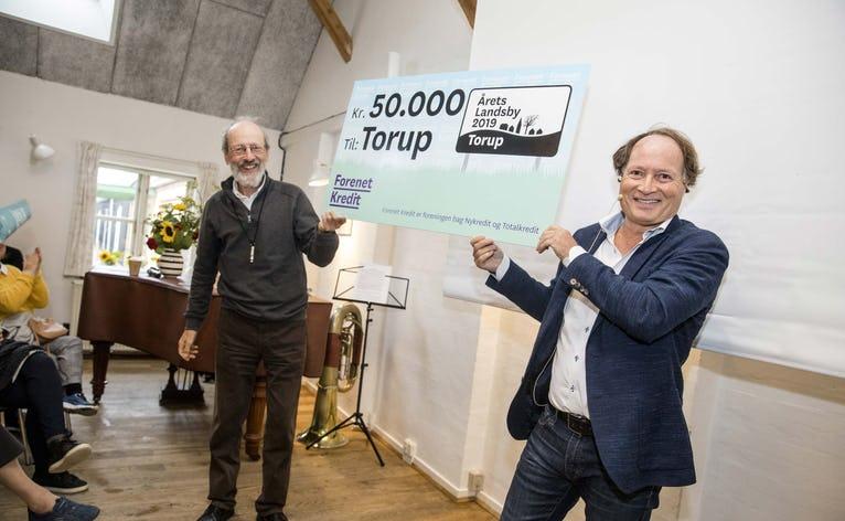 Hvilken landsby skal efterfølge landsbyen Torup, der blev Årets Landsby 2019?