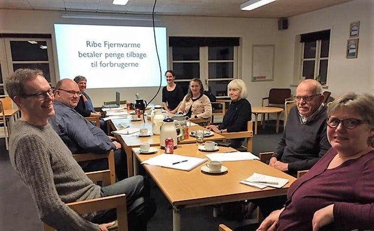 8 borgerjournalister var samlet i Fåborghus til kursus i artikelskrivning med journalist Katrine Friisberg.