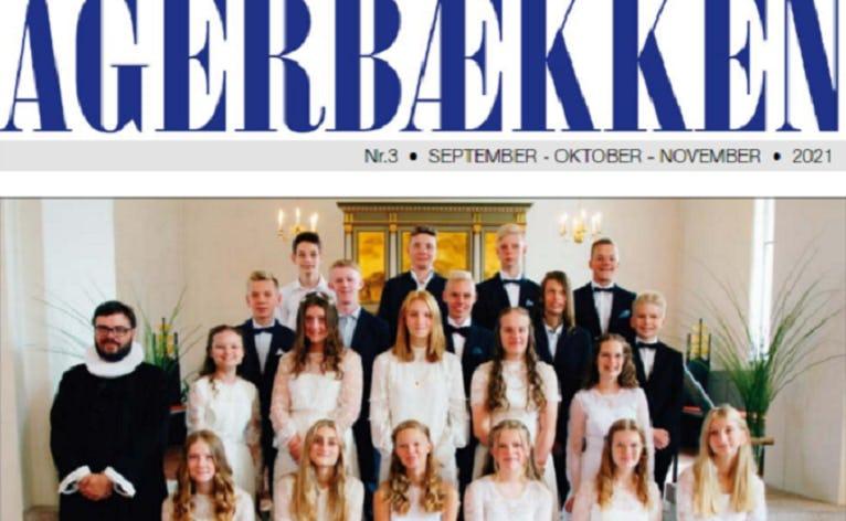 Årets konfirmander i Agerbæk 2021