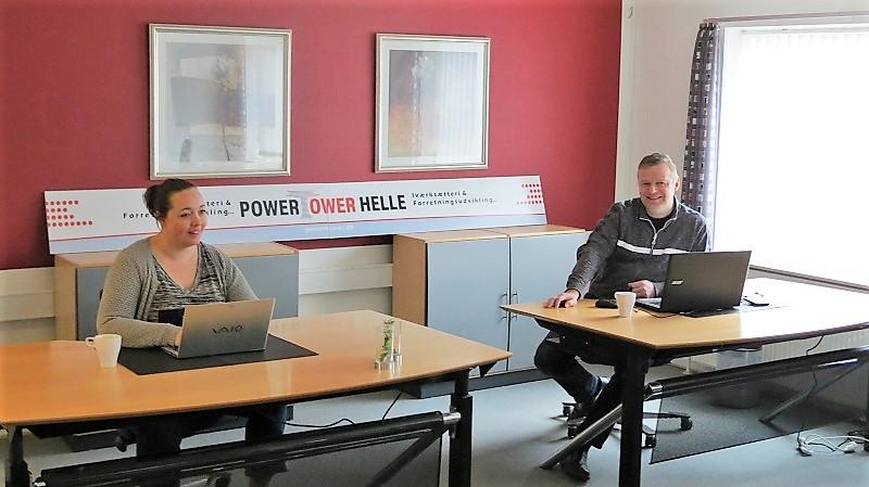 I PowerTower Helle er der flotte faciliteter for iværksættere