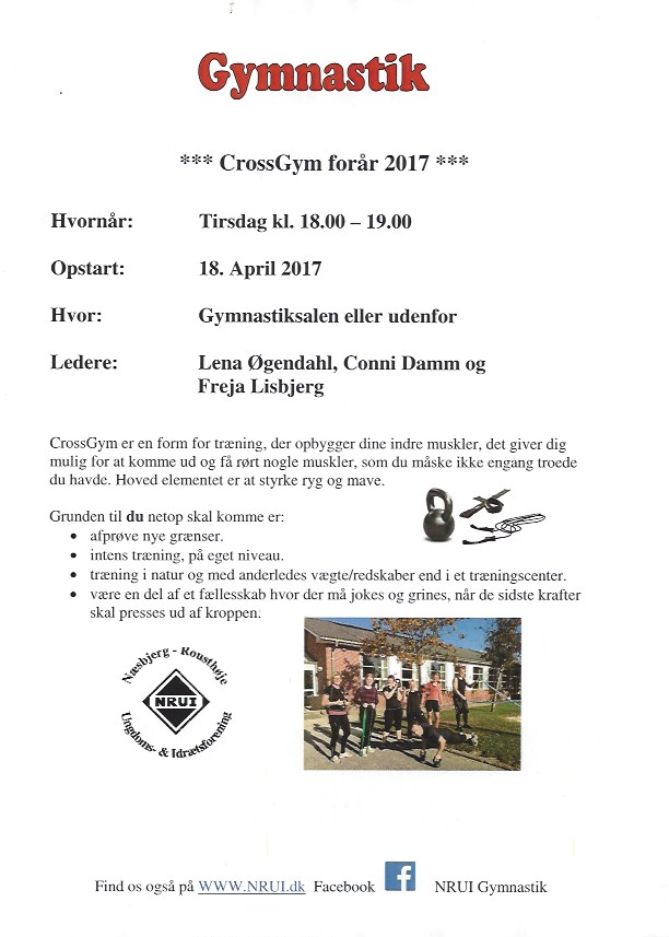 CrossGym forår 2017