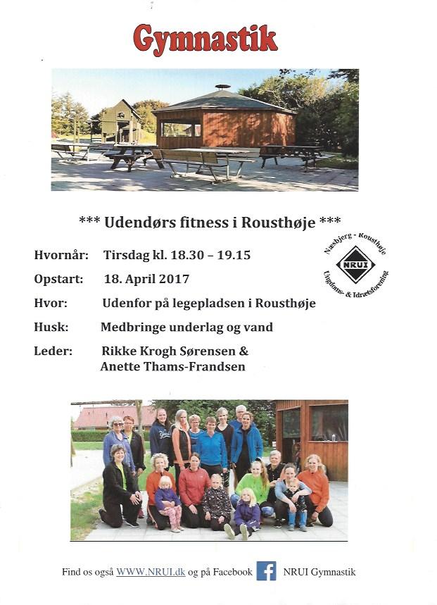 Udendørs fitness I Rousthøje