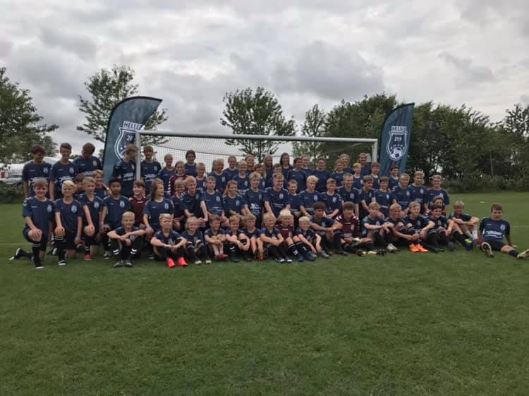 Helle F.C til Vildbjerg Cup 2019