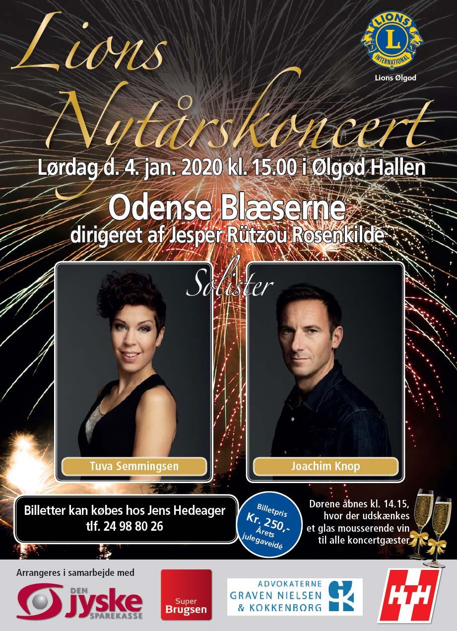 Nytårskoncert i Ølgod